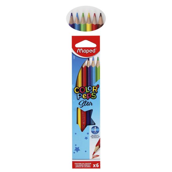 Цветные карандаши Color Peps 6 цв